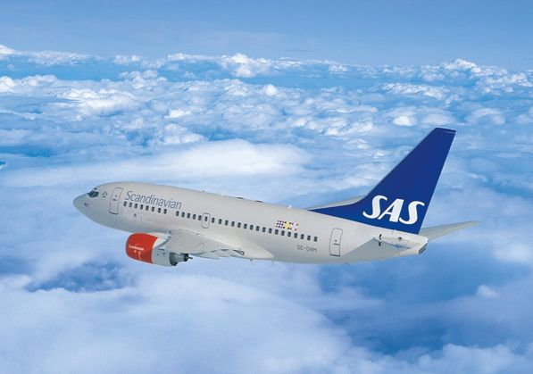 SAS till Köpenhamn