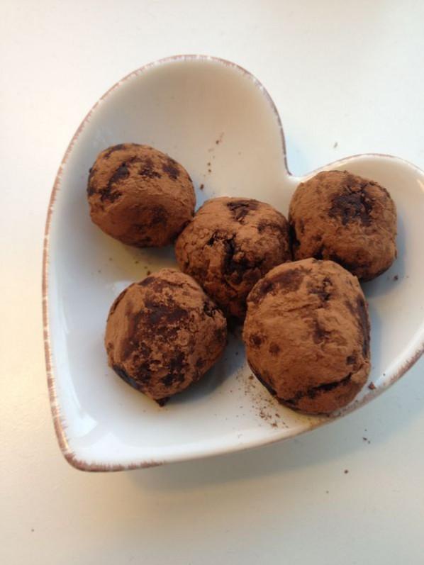 Raw Chokladtryfflar
