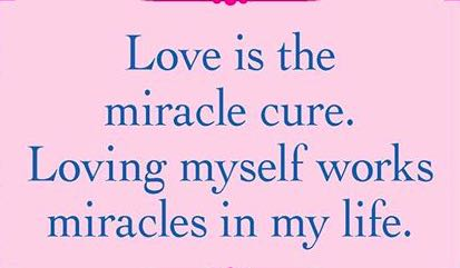 Love is a miracle...