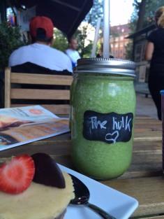 The Hulk Grön drink
