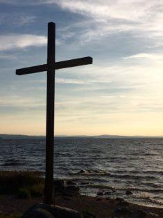 Kors vid Siljans strand